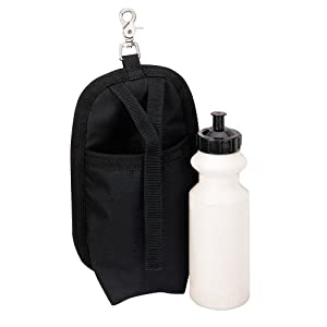 Weaver Leather Clip-On Holster with Water Bottle, Black
