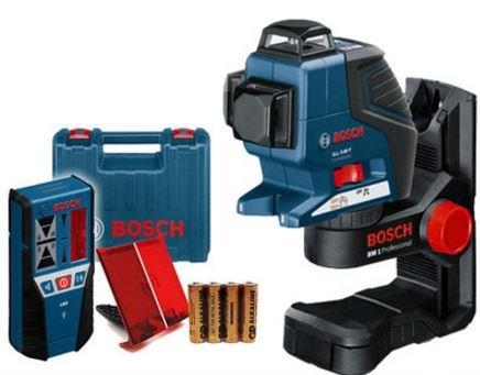 BOSCH(ボッシュ) レーザー墨出し器 GLL3-80P セット【正規品】 [並行輸入品] B071HZ1M1T