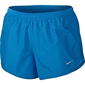 """NIKE Women's 3"""" Tempo Modern Embossed Dri-Fit Running Shorts 895116 450 Size Small"""