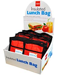 Insulated Lunch Bag Counter Top Display Case Of 60