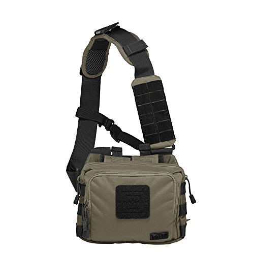 5.11 Tactical 2-Banger Bag 2-Banger, OD Trail, One (5.11 Tactical Nylon Vest)