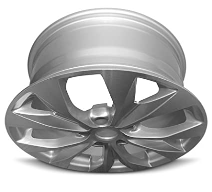 Exact OEM Replacement Full-Size Spar Road Ready Car Wheel For 2015-2017 Toyota Camry 17 Inch 5 Lug Gray Aluminum Rim Fits R17 Tire