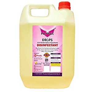 Hypox® Sodium Hypochlorite ISI Marked & FDA Approved USP Grade Surface Disinfectant 4.8 Liters