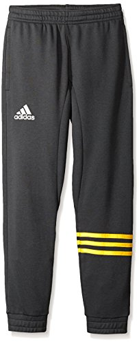 adidas Big Boys' Streetball Pant, Dark Grey/Eqt Yellow, - Dark Street Pants