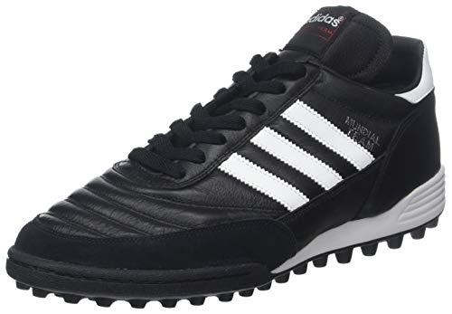adidas Performance Men's MUNDIAL TEAM Athletic Shoe, black/white/red, 10 M US