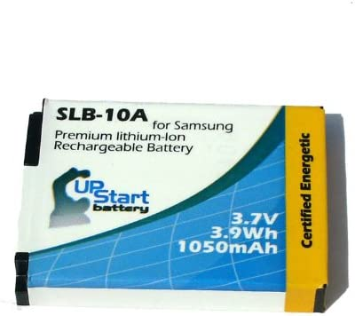 - Compatible with Samsung WB250F WB850F 1050mAh, 3.7V, Lithium-Ion WB750 WB700 Samsung SLB-10A Digital Camera Battery and Charger Replacement WB200F P1000 WB150 WB150F EX2F WB800F WB2100