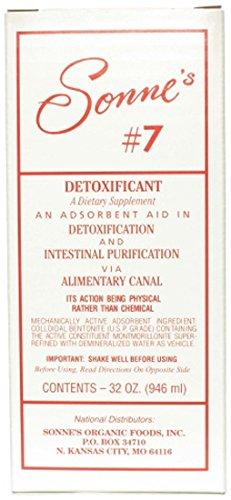 Sonnes, Bentonite Liquid No 7, 32 Ounce (Marijuana Detox Kits)