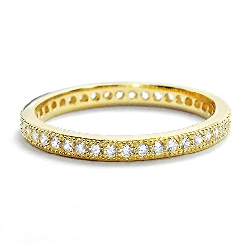 18 Ct Gold Eternity Rings - 7