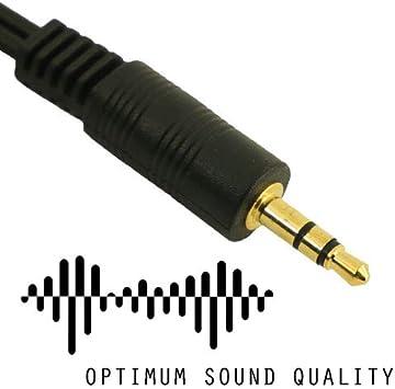 20 cm Autoradio Kopfh/örer Smartphone rhinocables Aux 3,5mm Klinken zu Klinken Kabel Stereo Audio Lautsprecherkabel f/ür Kopfh/örer Android Gold Kontakte schwarz MP3 Player