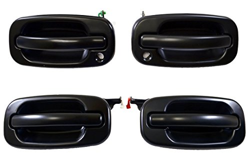 02 tahoe rear door handle smooth - 8