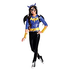 Rubie's Costume Kids DC Superhero Girls Deluxe Batgirl Costume, Medium