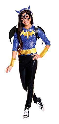 Rubie's Costume Kids DC Superhero Girls Deluxe Batgirl Costume, Large