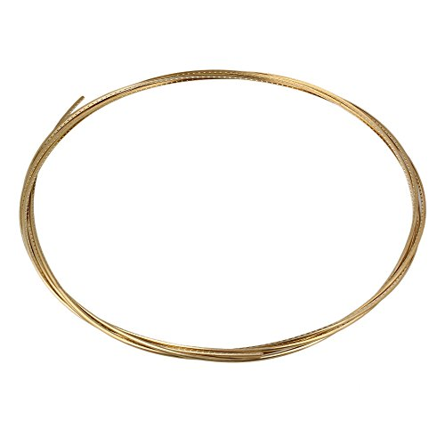 8 Feet Guitar Fret Wire for Electric Guitar Gold - 1