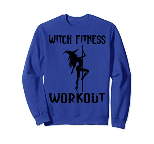 Witch Fitness Workout Funny Halloween Sweatshirt