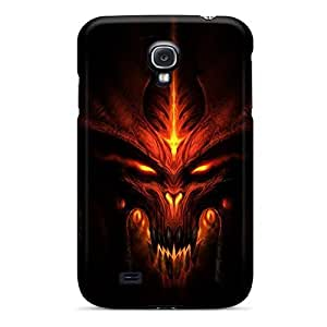 Premium Case With Scratch-resistant/ Diablo Case Cover For Galaxy S4