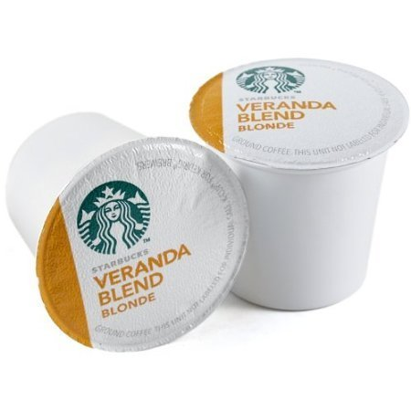 - Keurig Starbucks Veranda Blend Blonde Roast Keurig K-Cups, 48 Count