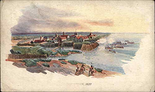 Jamestown, 1622 1907 Jamestown Exposition Original Vintage Postcard