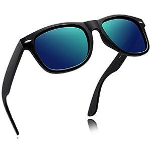 Joopin-2016 Retro Men Polarized Sunglasses Women Brand Sun Glasses Polaroid Lens With Box (Green)