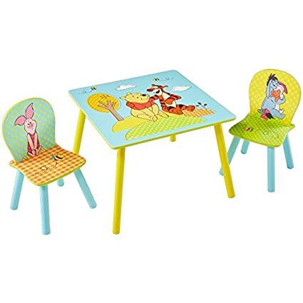 Winnie The Pooh Childrens Table and 2 Chairs by Winnie the Pooh  sc 1 st  Amazon.com & Amazon.com: Winnie The Pooh Childrens Table and 2 Chairs by Winnie ...