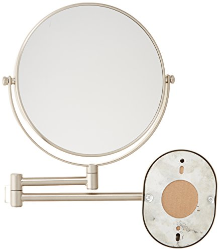 Jerdon Jp7507nb 8 Inch Wall Mount Makeup Mirror With 7x