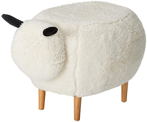Christopher Knight Home Pearcy Furry Sheep Ottoman