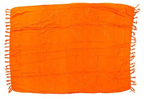 Kascha Trading - Camisola - para mujer Big Size Orange