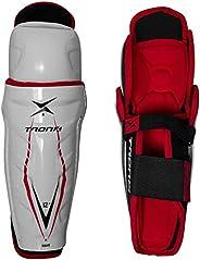 TronX Force Senior Adult Ice Hockey Shin Guards