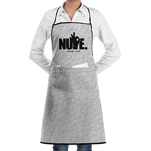 Xuforget Nupe Kappa Alpha Psi and Ok Hand Adjustable Bib Aprons Waterdrop Resistant with Pockets Kitchen Aprons for Women's & Mens Chef