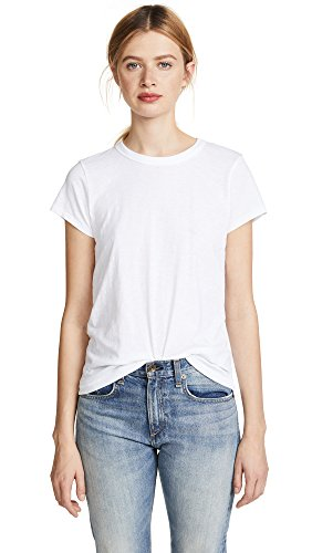 Rag & Bone/JEAN Women's The Tee, Bright White, Medium from Rag & Bone/JEAN