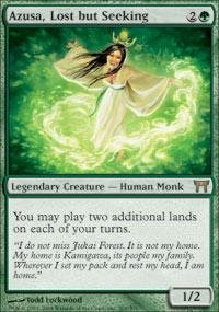 Magic: the Gathering - Azusa, Lost but Seeking - Champions of Kamigawa by Magic: the Gathering