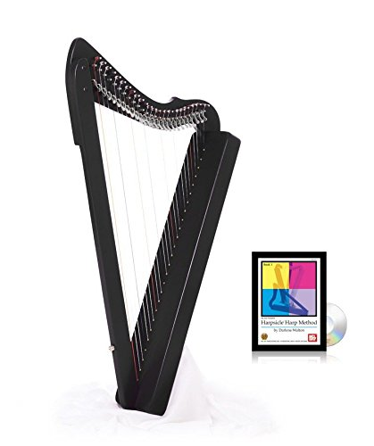 Fullsicle Harp w/ Play Book & DVD - Black by Harpsicle Harps
