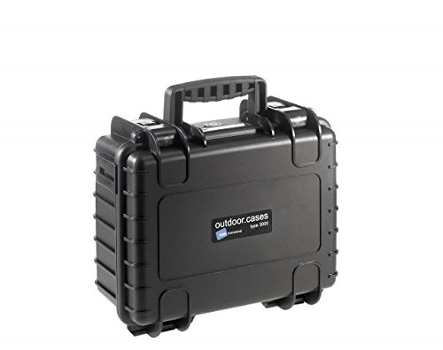 Type 3000 Outdoor Case with SI Foam, Black