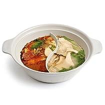 HARRA Specialty Half Pot 2-in-1 Pan Cookware Set Saucepan Kitchen Soup Pots (L)