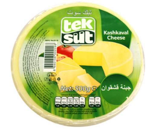 Teksut Kashkaval Cheese â€'' 1.1lb