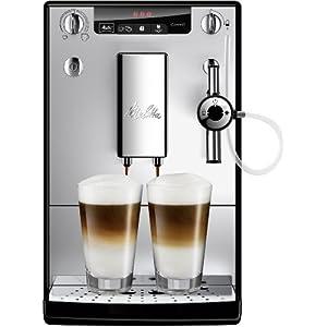 Melitta Caffeo Solo & Perfect Milk, Argent, E957-103, Machine à Café et Expresso Automatique avec broyeur à grains, Auto…