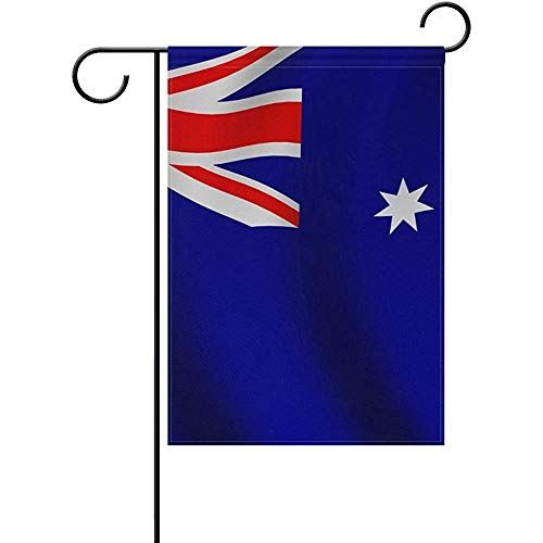Cvhtr3m Garden Flag Yard Decor, Misc Flag of Australia Double-Sided Polyester Garden Home Flag Banner for Party Home Outdoor Decor 12x18 inch