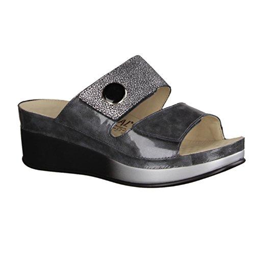 Pantofole Da Donna Vital 1622g-3119-9504 Con Plantare Massaggio Grigio
