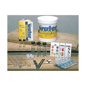 Water test ed kit ph dis o2 nitrate etc by lamotte swimming pool testing for Swimming pool test kits amazon