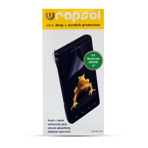 Wrapsol Ultra Drop Scratch Protection Film for Motorola DROID -