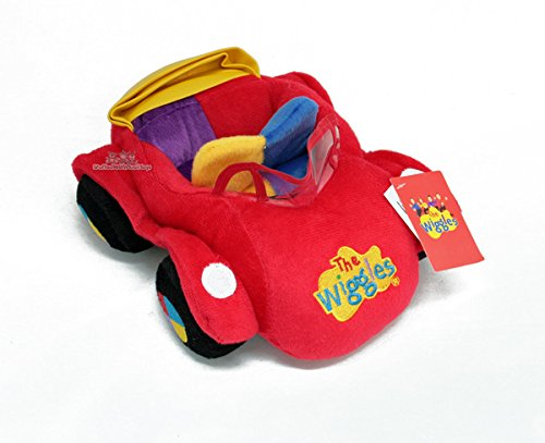 Big Red Car Soft Plush Stuffed Toy
