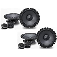Alpine SPS-610C 6-1/2 Component 2-Way Speaker System Bundle