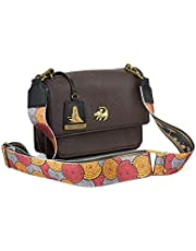 Loungefly x The Lion King Baby Simba African Floral Strap Crossbody Bag