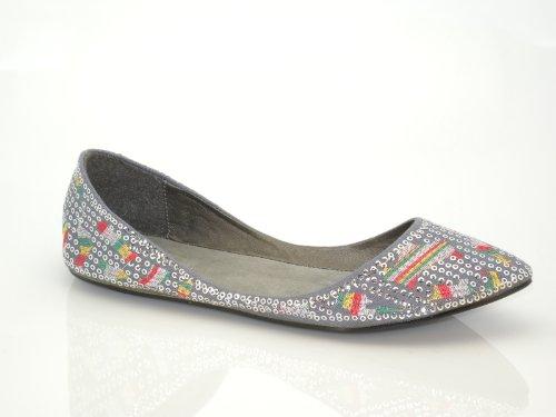 Brieten Mujeres Sequins Ballet Comfort Zapatos Planos Nuevos
