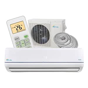 Senville Aura 12000 BTU Ductless Mini Split Air Conditioner and Heat Pump 22 SEER