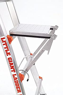 Little Giant Ladder Systems 10104 375-Pound Rated Work Platform Ladder Accessory (3 Ladder's)