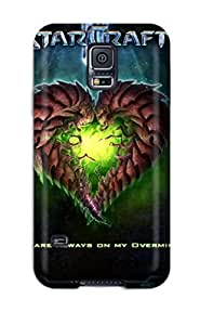 First-class Case Cover For Galaxy S5 Dual Protection Cover Starcraft Ii (2010) Game