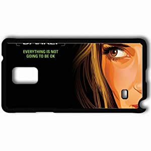 Personalized Samsung Note 4 Cell phone Case/Cover Skin A scanner darkly winona ryder donna hawthorne face Movies Black
