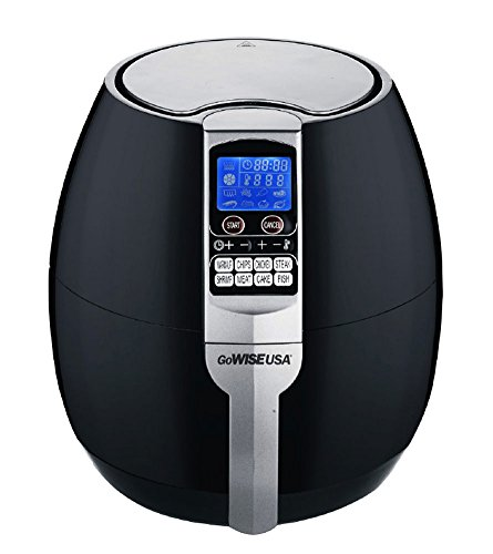 GoWISE USA Air Fryer (3.7-QT, Black)