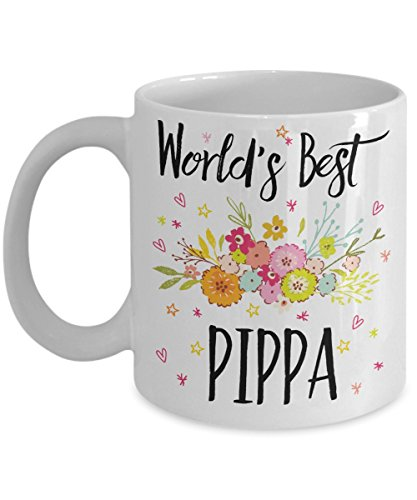 Pippa Mug - World's Best Pippa - Best Pippa Ever - A Thank You And / Or Appreciation Gift - Coffee Cup In 11oz Or 15oz Sizes