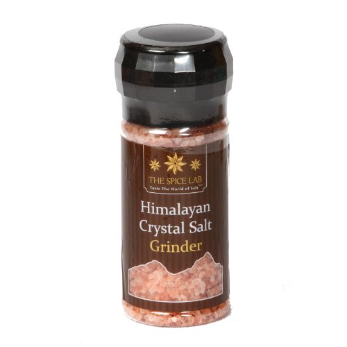 The Spice Lab Pink Himalayan Salt - Nutrient and Mineral Dense for Health - Kosher and Natural...